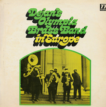 Dejan's Olympia Brass Band – <cite>In Europe</cite> album art
