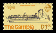 <span>The Gambia ship stamps, London <span>1980</span></span>
