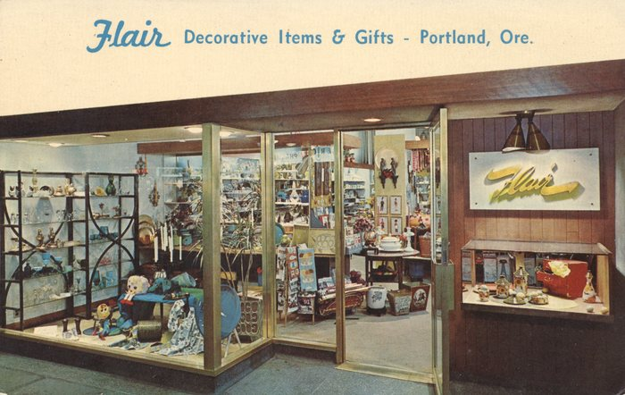 Postcard by Flair, Inc., Portland, Oregon