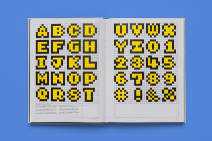 Arcade Game Typography by Toshi Omagari 2