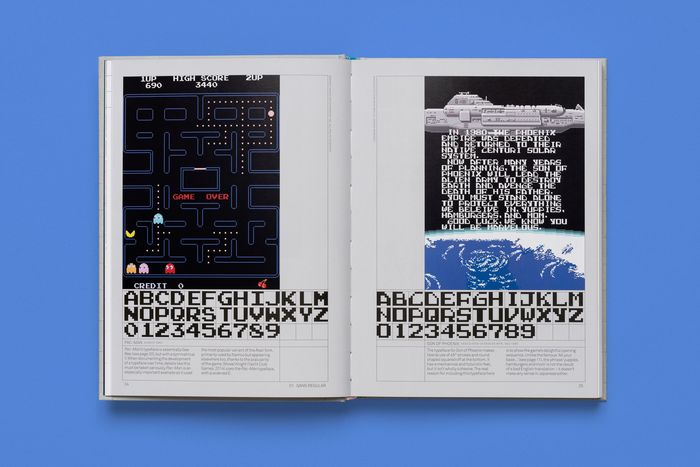Arcade Game Typography by Toshi Omagari 3