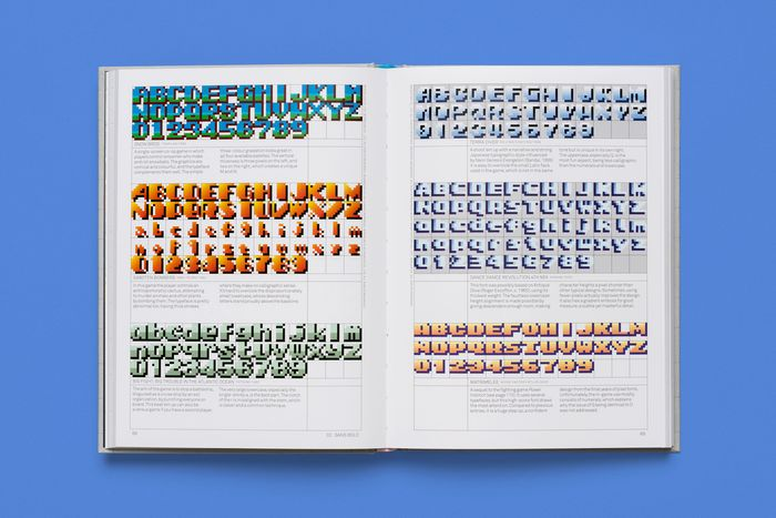 Arcade Game Typography by Toshi Omagari 4