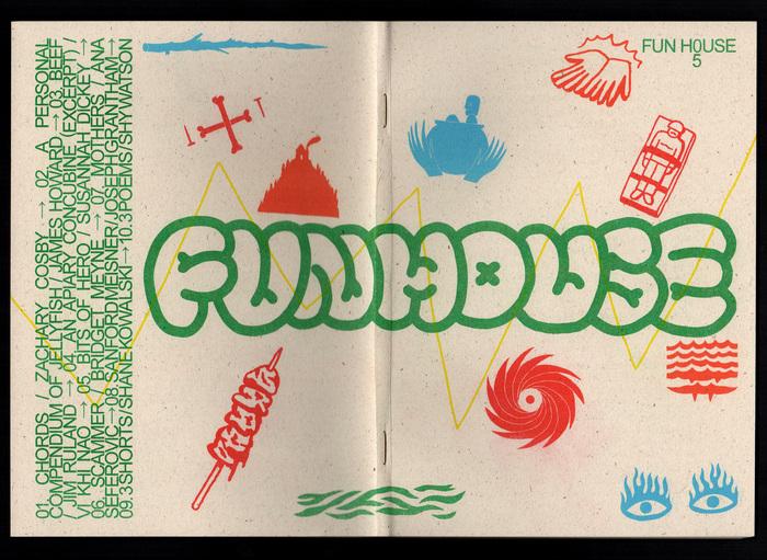 Funhouse magazine issue 05, 2018 1