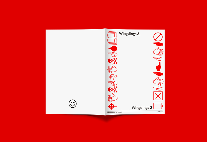 Wingdings & Wingdings 2. Explicades en HK Grotesk 1