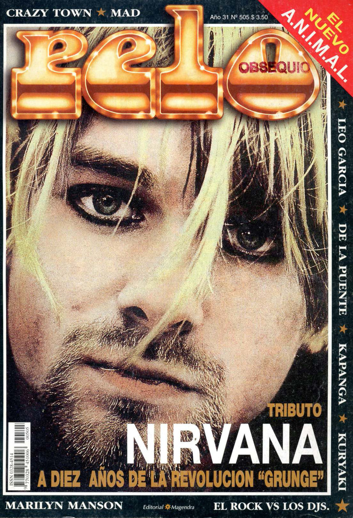 Vol. XXXI, No. 505 (2001), ft. Kurt Cobain, , and .