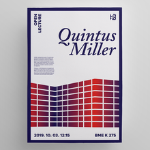 Quintus Miller lecture poster