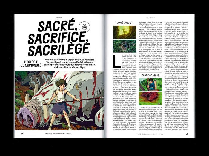 "La Septième Obsession, issue 28, ""Hayao Miyazaki"" 5"