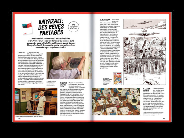 "La Septième Obsession, issue 28, ""Hayao Miyazaki"" 8"