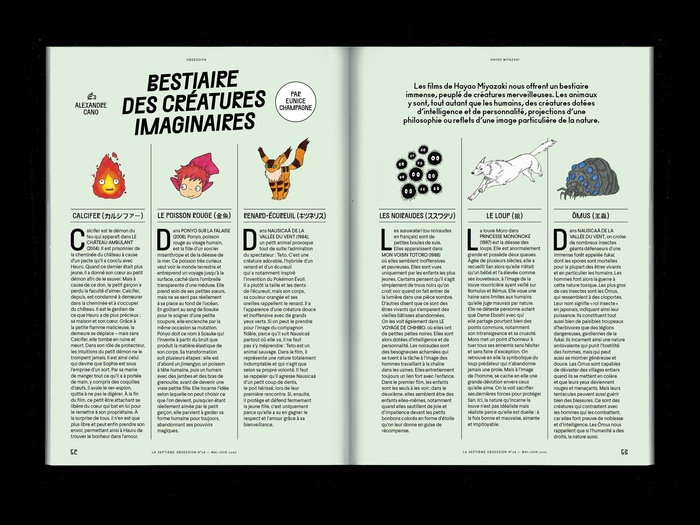 "La Septième Obsession, issue 28, ""Hayao Miyazaki"" 6"
