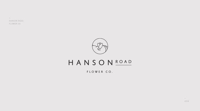 Hanson Road Flower Co. visual identity 3