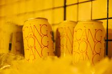 """""""Càng Đong Càng Vui"""" Red Tiger x Harricana beer can"""