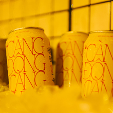 """Càng Đong Càng Vui"" Red Tiger x Harricana beer can"
