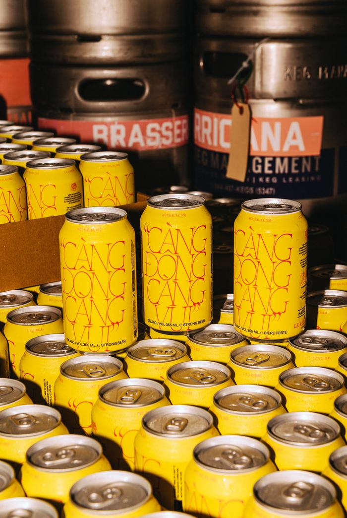 """""""Càng Đong Càng Vui"""" Red Tiger x Harricana beer can 6"""