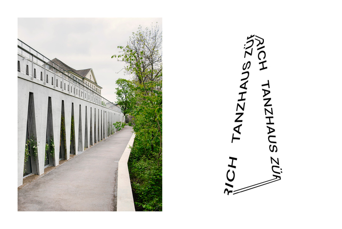 Tanzhaus Zürich visual identity 2