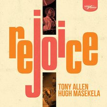 Tony Allen &amp; Hugh Masekela – <cite>Rejoice</cite> album art