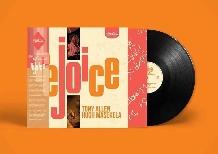 Vinyl record.