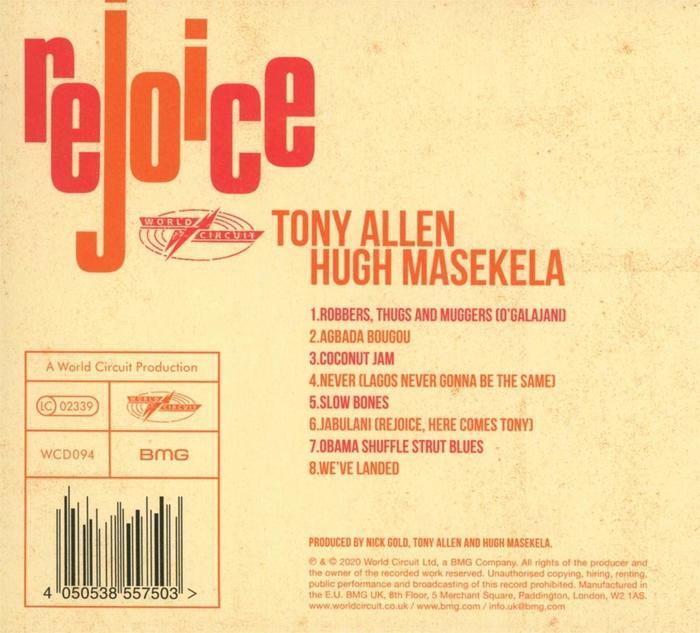 Back cover (CD)