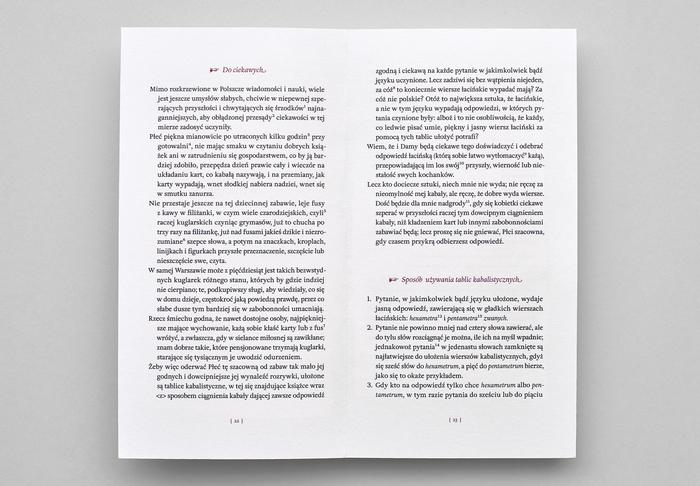 Wieszczba wyroczni, Second Edition Project 3