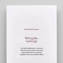 <cite>Wieszczba wyroczni</cite>, Second Edition Project