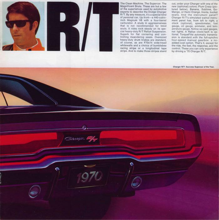 Dodge Charger leaflet (1970) 7