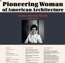 Pioneering Women of American Architecture website