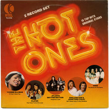 Various Artists – <cite>The Hot Ones</cite> album art, K-Tel Records