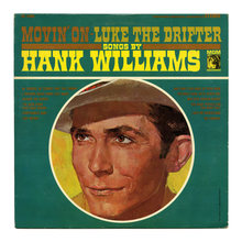 Hank Williams – <cite>Movin' On – Luke The Drifter</cite> album art