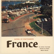 French tourism posters (1950s/1960s)