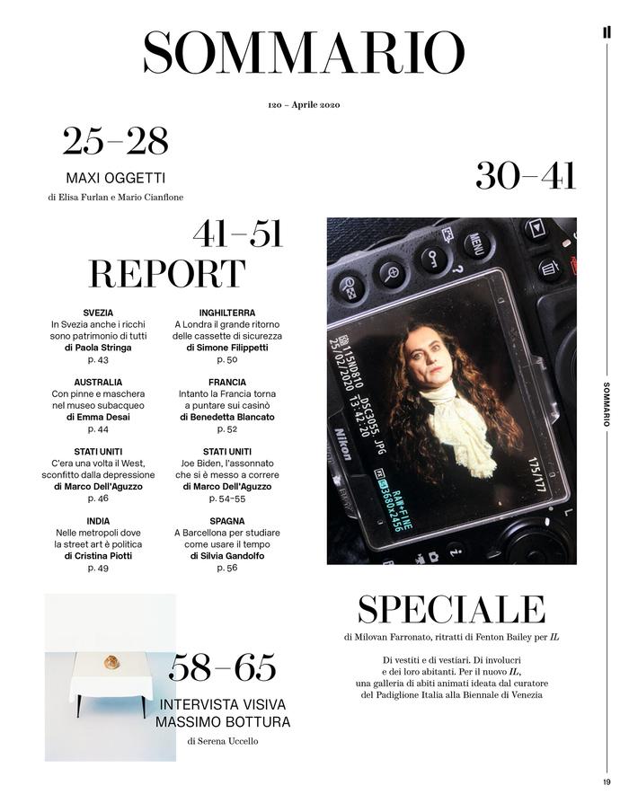 IL newspaper magazine N. 120, 2020 restyling 2