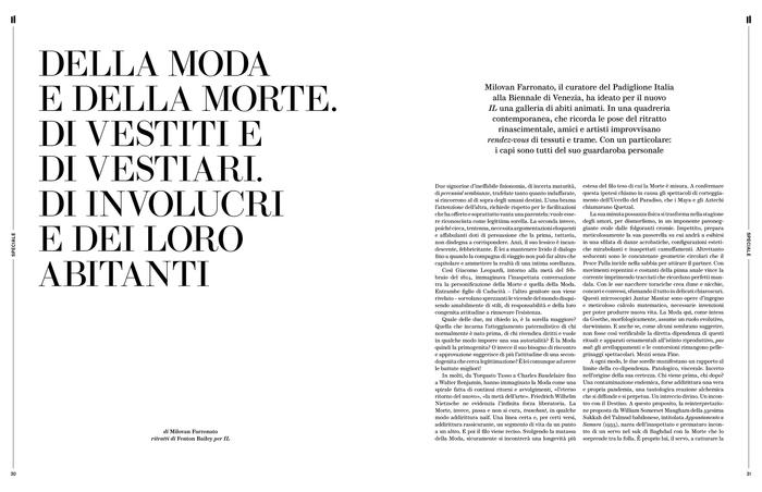 IL newspaper magazine N. 120, 2020 restyling 4