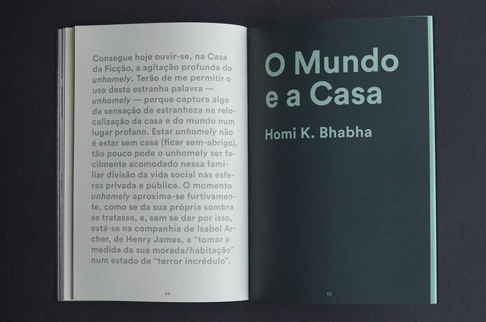 """A Casa e o mundo (""""The world and the home"""") 12"""