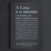 "<cite>A Casa e o mundo </cite>(""The world and the home"")"