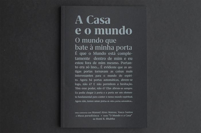"""A Casa e o mundo (""""The world and the home"""") 1"""