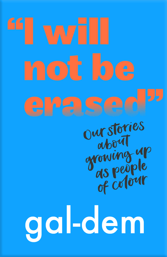 """I Will Not Be Erased"" book cover 1"