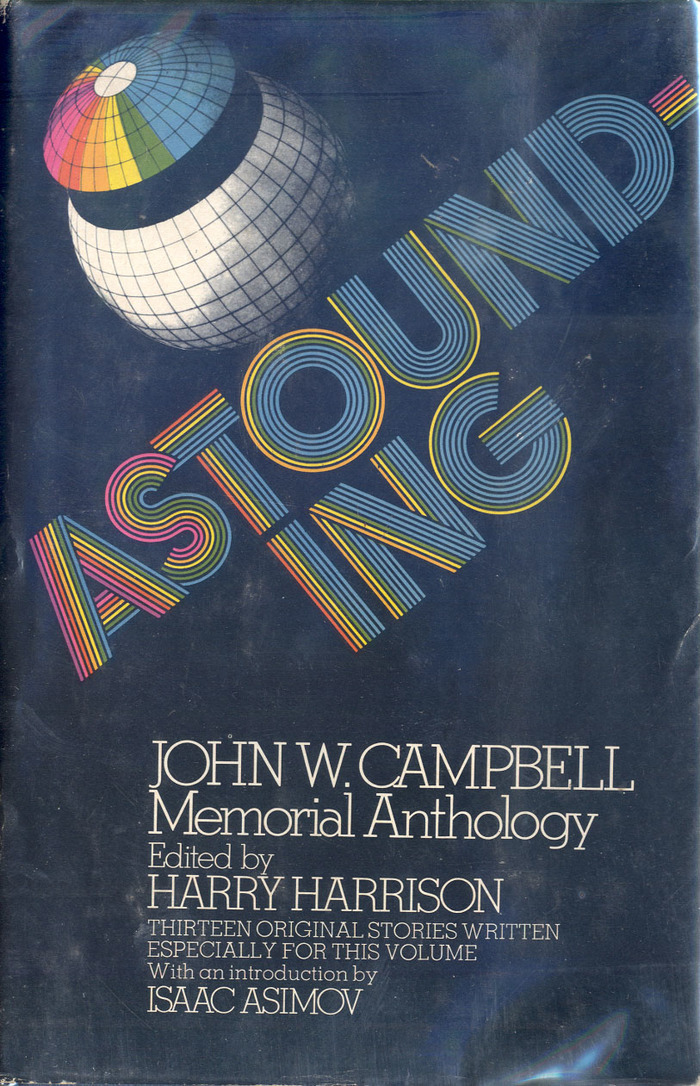 Jacket of the hardback edition by Random House, November 1973, with cover art by John Sposato (@type_and_image). [More info on ISFDB]