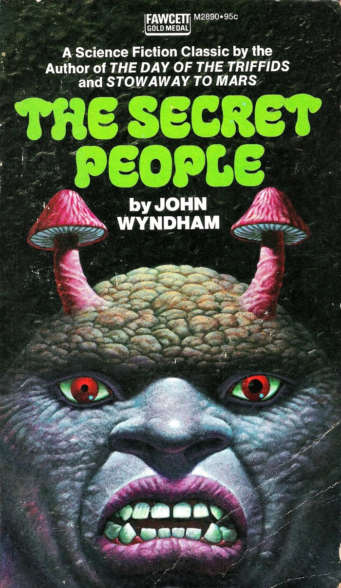 The Secret People by John Wyndham (Fawcett) 1