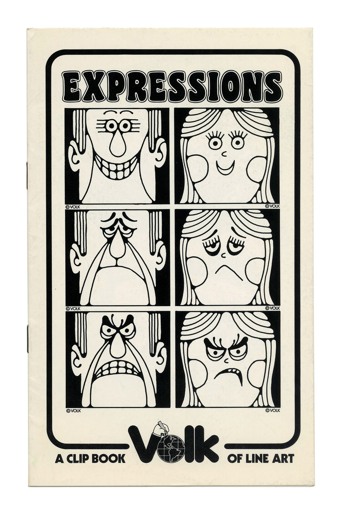 """""""Expressions"""" (No. 309) ft.  in all caps."""