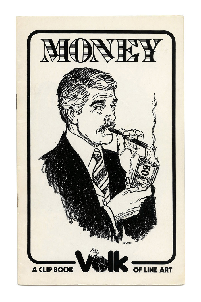 """Money"" (No. 719) ft. a version of , probably Bond Shaded. Illustration by Tom Sawyer."