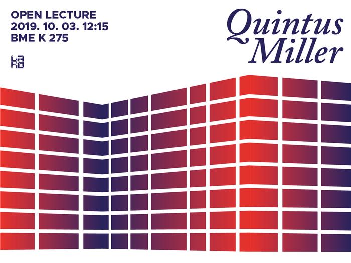 Quintus Miller lecture poster 1