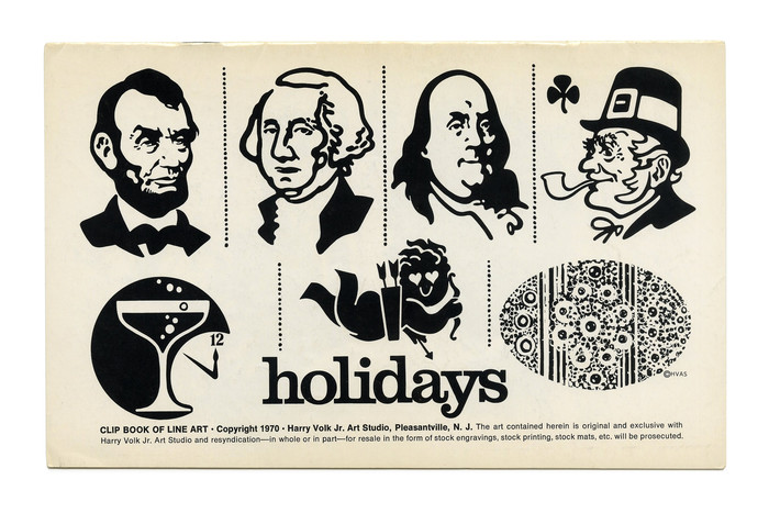 """Holidays"" (No. 200) shows tightly spaced lowercase ."