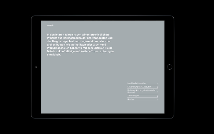 BST Architects visual identity and website 14