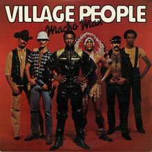 Village People – <cite>Macho Man </cite>album art