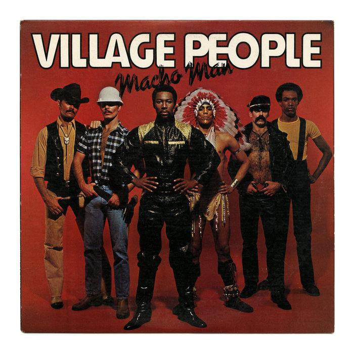 Village People – Macho Man album art