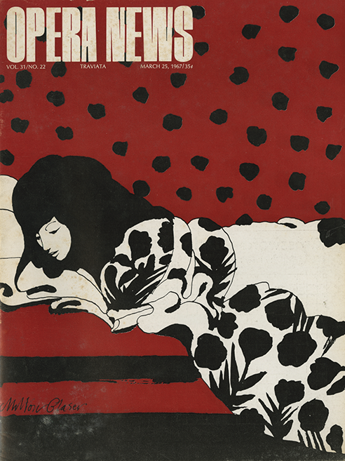 """Vol. 31, No. 22, """"Traviata"""", March 25, 1967."""