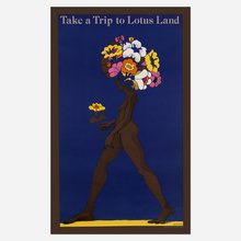 "<cite>Push Pin Graphic</cite> No. 52, ""Take a Trip to Lotus Land"" poster, 1967"
