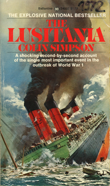 <cite>The Lusitania</cite> by Colin Simpson (Ballantine)
