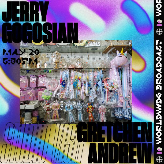 Jerry Gogosian studio visit social media flyers 1
