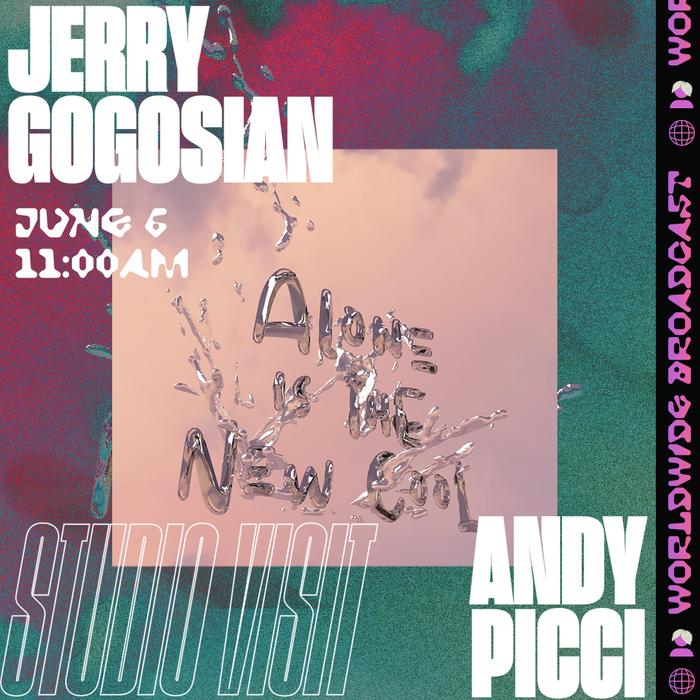 Jerry Gogosian studio visit social media flyers 3