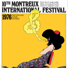 Montreux International Jazz Festival 1976 and 1977 posters