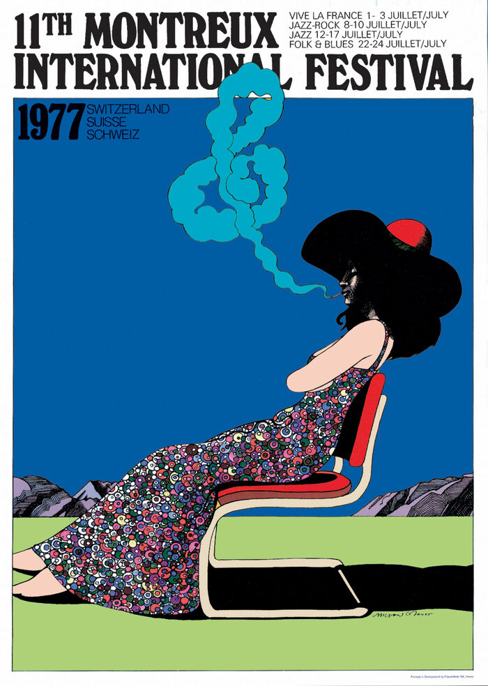 Montreux International Jazz Festival 1976 and 1977 posters 2